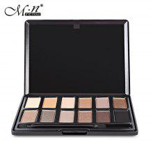 Menow 12 Color Matte Smokey Eyeshadow Palette with Brush