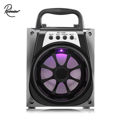 Redmaine MS - 133BT Bluetooth Speaker with LED Lights