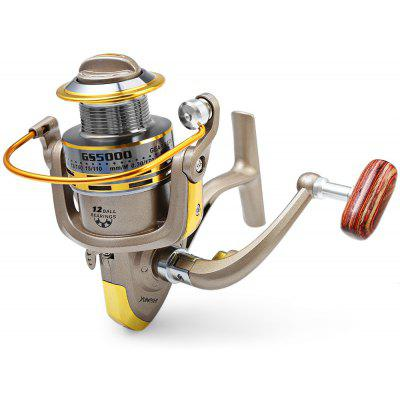 GS - 5000 12 Ball Bearings Spinning Fishing Reel 5.2 : 1
