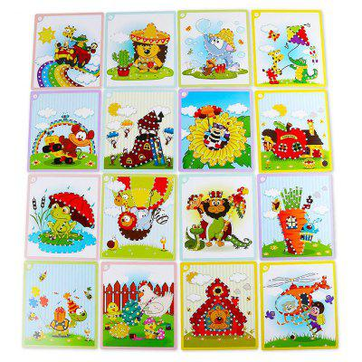Sticky Diamond Painting Handmade Toy for Children