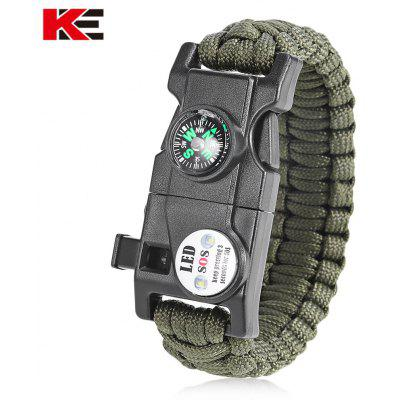 EMAK Outdoor Multifunctional Paracord Bracelet