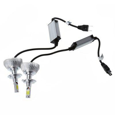 2pcs COB H7 COB LED Car Front Light