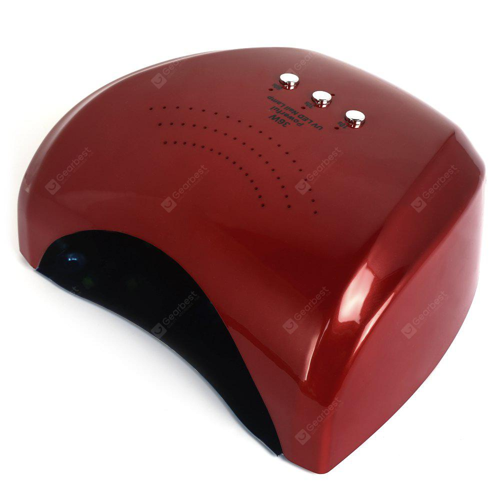 36W Dual Sources UV / LED Nail Dryer Lamp