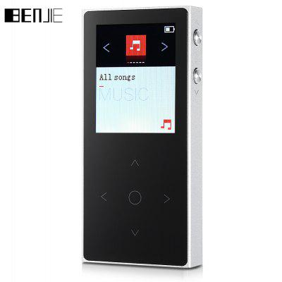 BENJIE K9S 8GB Touch Button sin pérdida MP3 con auriculares