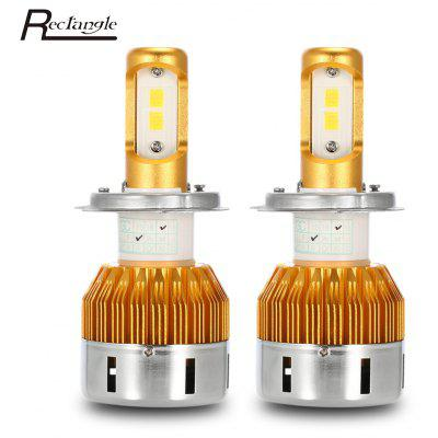 Rectangle T23909 H4 Pair of Car LED Headlight