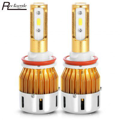 Rectangle T23905 H9 Pair of Car LED Headlight