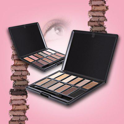 Menow 12 Color Matte Smokey Eyeshadow Palette with BrushEye Makeup<br>Menow 12 Color Matte Smokey Eyeshadow Palette with Brush<br><br>Feature: Brighten<br>Finish Surface: Matte<br>Net Weight: 100 g<br>Package Content: 1 x Eye Shadow Palette, 1 x Eye Shadow Brush<br>Package size (L x W x H): 10.30 x 1.30 x 13.80 cm / 4.06 x 0.51 x 5.43 inches<br>Package weight: 0.1420 kg<br>Product size (L x W x H): 10.00 x 1.00 x 13.50 cm / 3.94 x 0.39 x 5.31 inches<br>Product weight: 0.1010 kg<br>Single color/multi-color: 12 colors<br>Waterproof / Water-Resistant: Yes