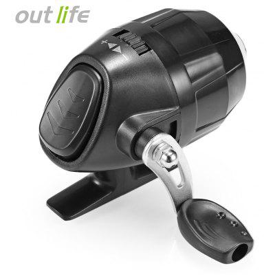 Outlife Fish Closed Wheel Spincast Reel with Fishing Line