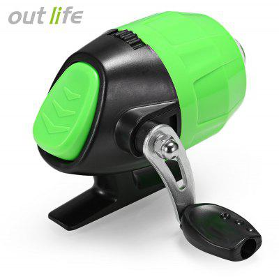 Outlife Spincast Reel with Fishing Line