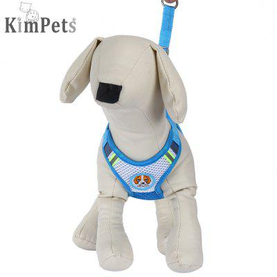 Kimpets Pet Dog Breathable Mesh Vest with Traction Rope