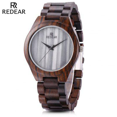 REDEAR SJ1448 - 1 Unisex Wood Quartz Watch