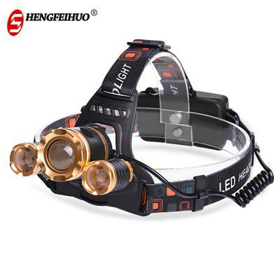 Shengfeihuo LED Floodlight Zoom Rechargeable Miner Light