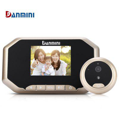 Danmini YB - 30AHD 8G Digital Door Peephole Viewer