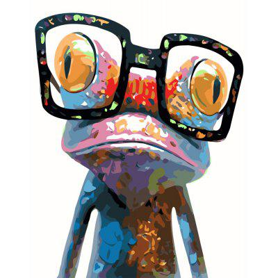 Creative Frog Digital Oil Hand Painting Wall Home Decor