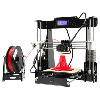 Gearbest Anet A8 Desktop 3D Printer $125.55 with Coupon 'BlackFAFF23' promotion