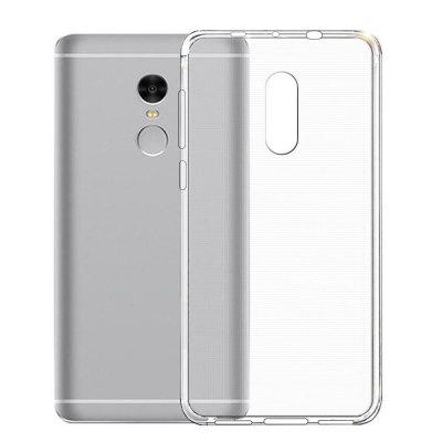 Transparent TPU Soft Phone Case for Xiaomi Redmi Note 4