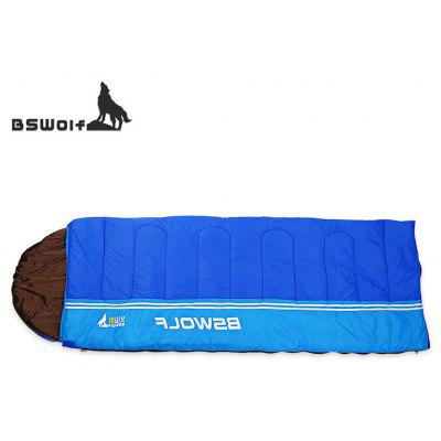 BSWolf Adults Three Season Camping Envelope Style Sleeping Bag for One People Use