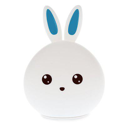 LED Lovely Rabbit Colorful Silicone Night Light