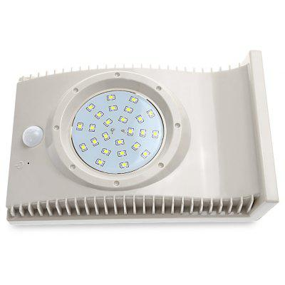 Outdoor Waterproof Solar Energy Body Sensor Wall Lamp
