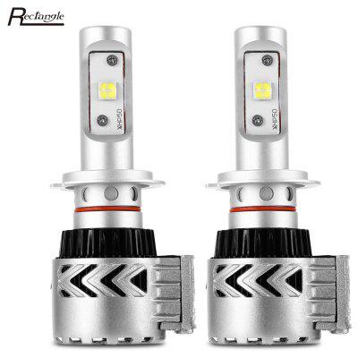 Rectángulo H7 12 - 24V Car LED Faro