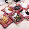 Simulation Sleeping Cat Toy with Cloth Pad - SEAT CAT YELLOW