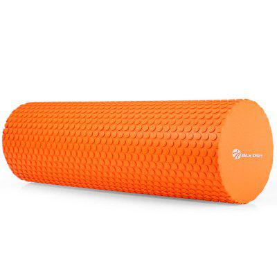 Buy ORANGE MILY SPORT EVA 3.93 inches Floating Point Yoga Foam Roller Massage for $8.68 in GearBest store