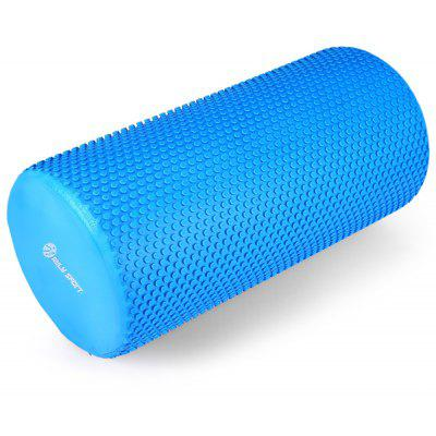 Buy BLUE MILY SPORT EVA 5.9 inches Floating Point Yoga Foam Roller Massage for $8.19 in GearBest store