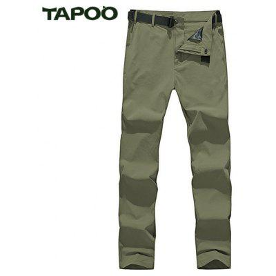 Buy KHAKI TAPOO Men Straight Hiking Pants for $45.60 in GearBest store