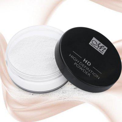 Menow F16010 Concealer Face Makeup Loose Powder with Puff bob cosmetic makeup powder w puff mirror ivory white 02