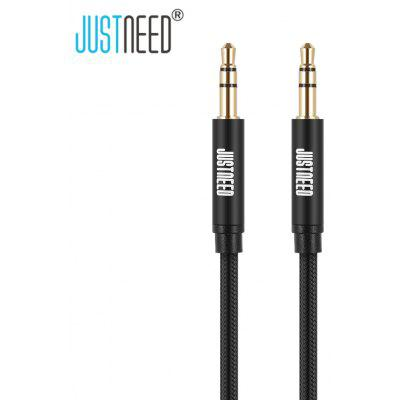JUSTNEED Woven AUX003 3.5mm Male to Male Audio Cord