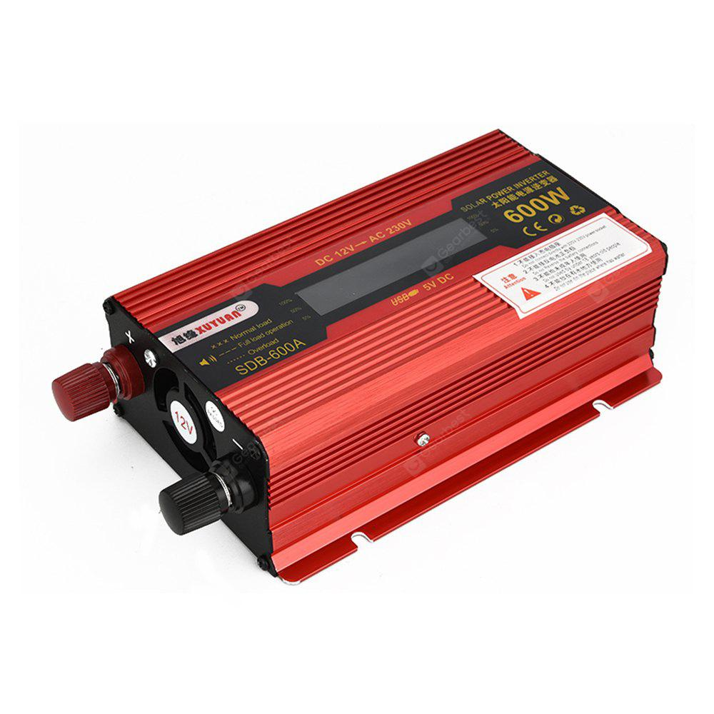 Xuyuan 600w Dc 12v To Ac 230v Auto Solar Power Inverter 2947 Circuit 12 Volt For Soldering Iron Portable Free Shipping