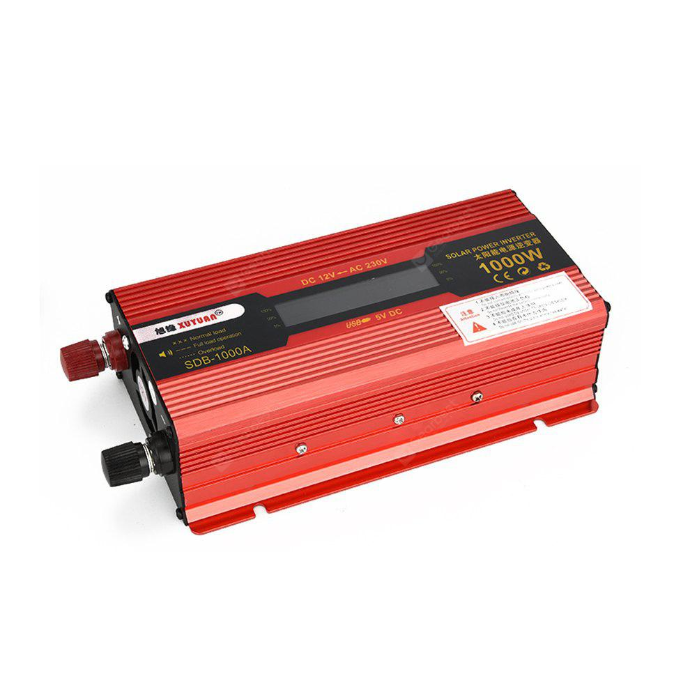 Image result for XUYUAN 1000W DC 12V to AC 230V Auto Solar Power Inverter