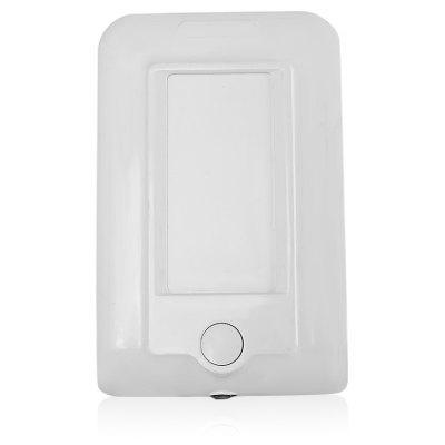 Recharge Socket with LED Optically Controlled Night Light