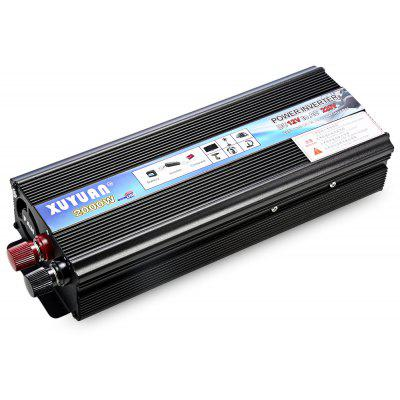 XUYUAN 2000W Power Inverter DC 12V AC 110V Car Converter