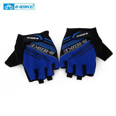 INBIKE Paired Breathable Anti-skid Half Finger Cycling Gloves