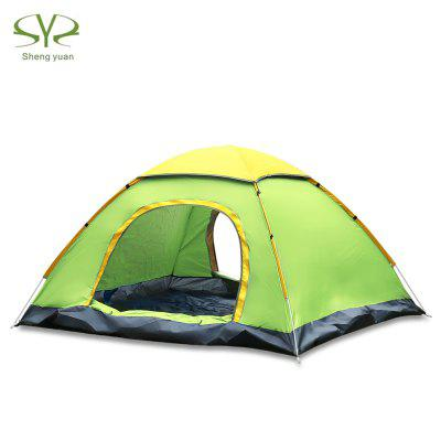 SHENGYUAN Instant Setup 2 Person Camping Tent with Rain Cover