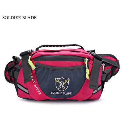 SOLDIER BLADE Unisex Outdoor Travel Waist Shoulder Bag