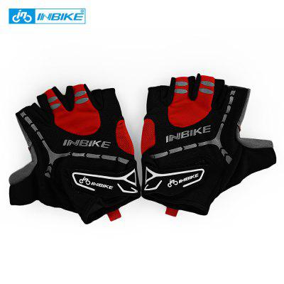 INBIKE Paired Breathable Anti-skid Half Finger Cycling Gloves for Adults