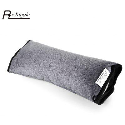 Rectangle Children Car Seat Belts Shoulder Protection Back Cushion Pillow 1 pc free shipping shearing wool 100% australia sheepskin car seat cover for one front seat auto car cushion universal car cape