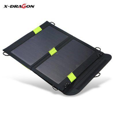X-DRAGON 5V 1.6A 14W Solar Panel Charger Folding Bag