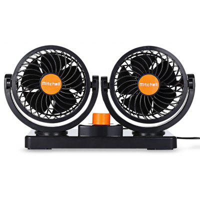 Mitchell 2 Gears 360 Degree Rotating Car Cooling Fan