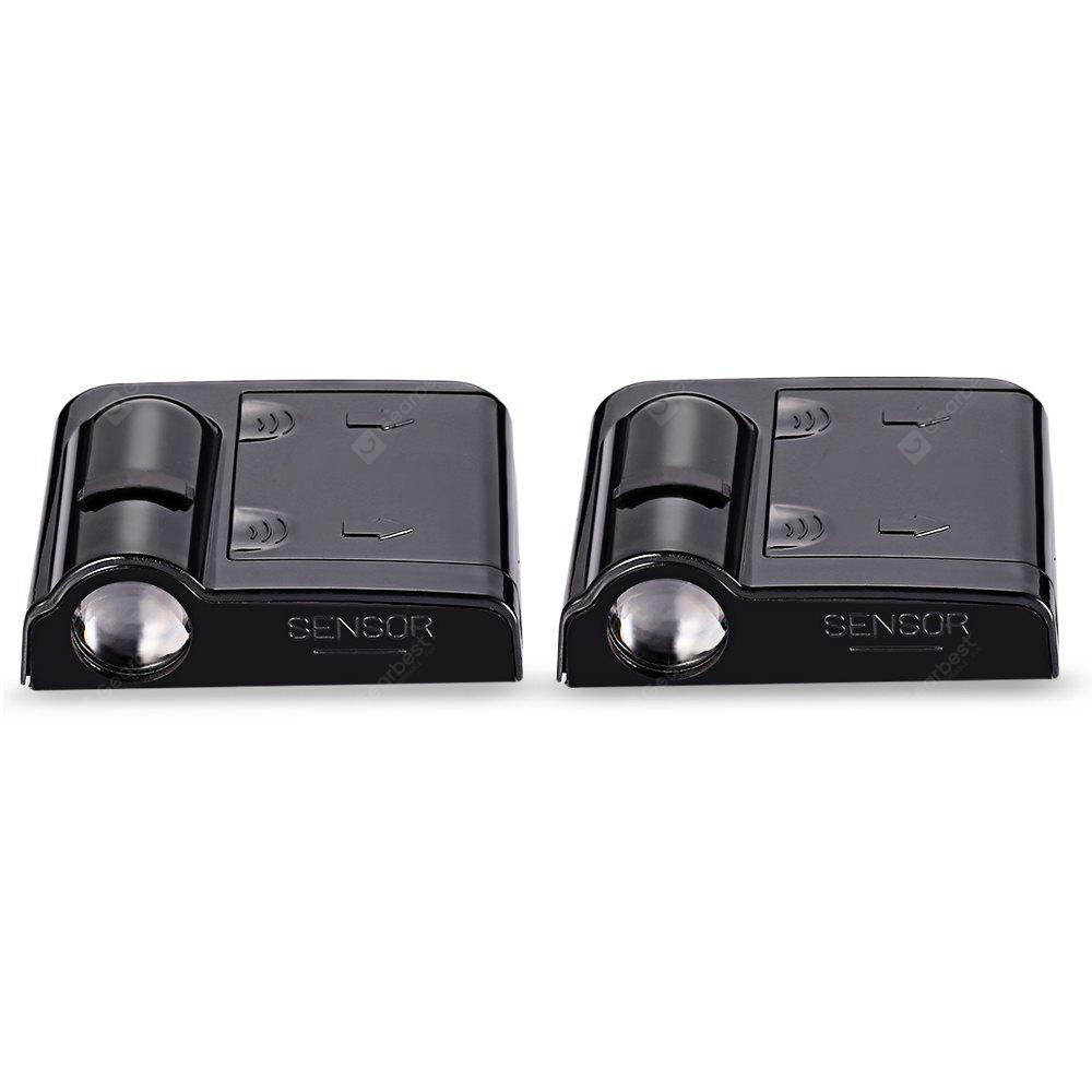 2PCS Wireless No Drill Type Ghost Shadow Light for Harley Davidson ...