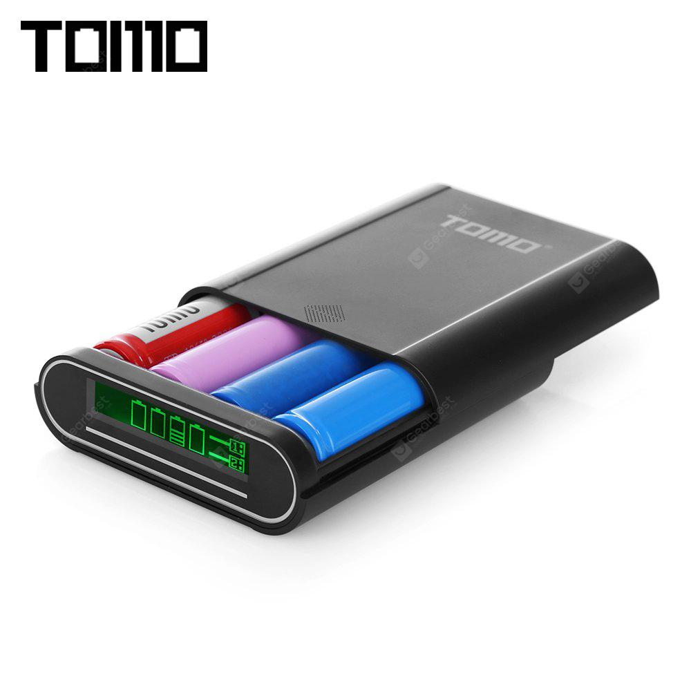 TOMO S4 4 x 18650 Batterie Li-ion DIY Smart Power Charger