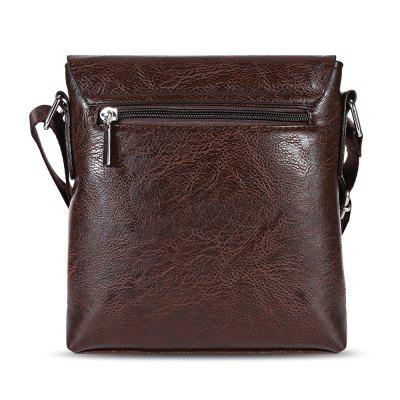 SEONYU Business Half Flap Men Shoulder Crossbody BagCrossbody Bags<br>SEONYU Business Half Flap Men Shoulder Crossbody Bag<br><br>Closure Type: Magnet<br>Gender: For Men<br>Handbag Size: Mini(&lt;20cm)<br>Handbag Type: Shoulder bag<br>Hardness: Soft<br>Interior: Interior Zipper Pocket<br>Main Material: PU<br>Occasion: Business<br>Package Contents: 1 x Shoulder Bag<br>Package size (L x W x H): 18.50 x 4.00 x 19.50 cm / 7.28 x 1.57 x 7.68 inches<br>Package weight: 0.2900 kg<br>Pattern Type: Letter<br>Product size (L x W x H): 18.00 x 3.50 x 19.00 cm / 7.09 x 1.38 x 7.48 inches<br>Product weight: 0.2450 kg<br>Strap Length: 140CM<br>Style: Casual