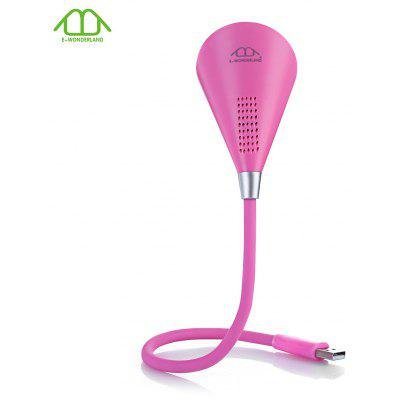 E - WONDERLAND USB LED Lampe Bluetooth Lautsprecher