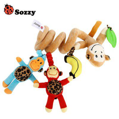 Sozzy Monkey Baby Music Bed Hanging Toy