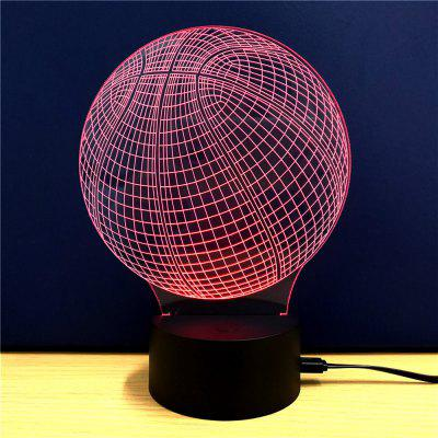 Colorful Basketball Model 3D LED Table Lamp