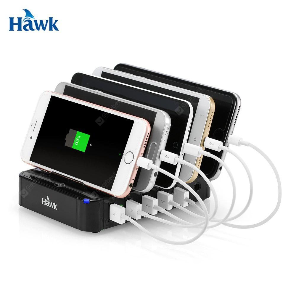 Hawk S - 560 47.5W Power 5 Ports Usb Qc 2.0 Station De Recharge