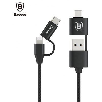 Baseus 5 in 1 Multifunctional 2A Charging Data Cable 1M