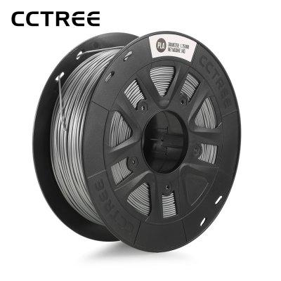 CCTREE PLA 3D Printer Filament – SILVER
